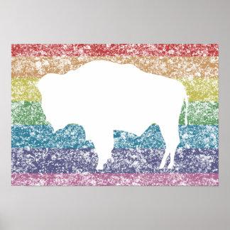 wyoming rainbow poster