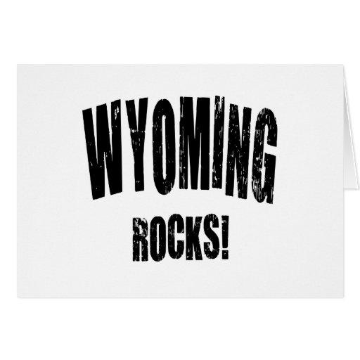 Wyoming Rocks! Greeting Card