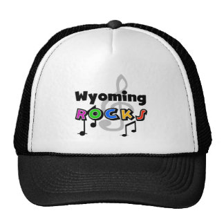 Wyoming Rocks Trucker Hat