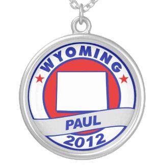 Wyoming Ron Paul Pendant