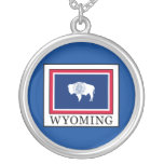 Wyoming Round Pendant Necklace
