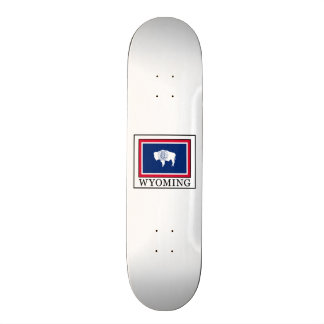 Wyoming Skateboard Deck