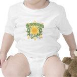 Wyoming solar traje de bebé