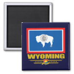 Wyoming (SP) 2 Inch Square Magnet