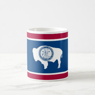 Wyoming State Flag Coffee Cup Mug