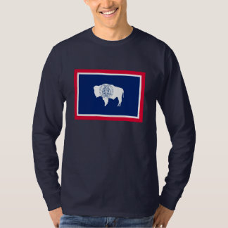 Wyoming State Flag Design T-Shirt