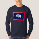 Wyoming State Flag Design Tee Shirt