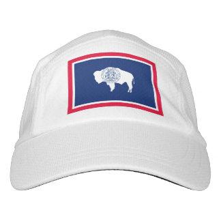 Wyoming State Flag Design Headsweats Hat