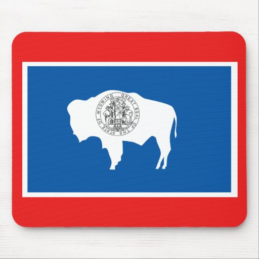Wyoming State Flag Mouse Pad