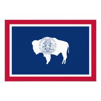 Wyoming State Flag Photo Art