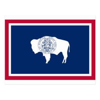 Wyoming State Flag Postcard