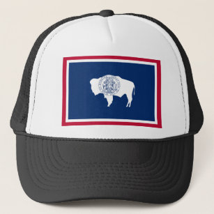 Wyoming State Flag Hats   Caps  c230a162e