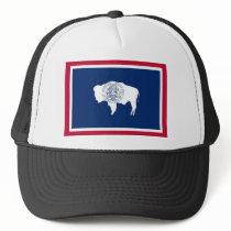 Wyoming State Flag Trucker Hat