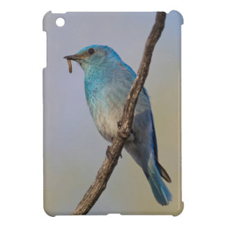 Wyoming, Sublette County, Male Mountain Bluebird Cover For The iPad Mini