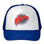 Wyoming swoop cap mesh hats