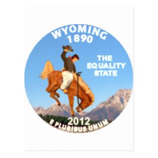 Wyoming Tarjeta Postal