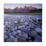 Wyoming, Teton National Park, Snake River Ceramic Tile