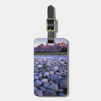 Wyoming, Teton National Park, Snake River Tags For Luggage