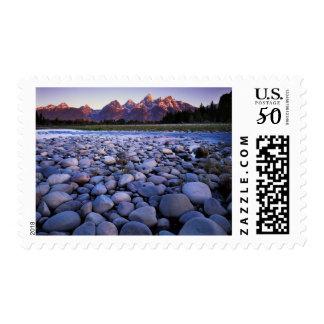 Wyoming, Teton National Park, Snake River Postage