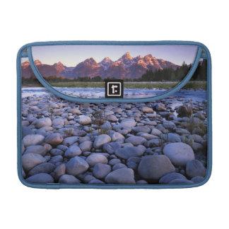 Wyoming, Teton National Park, Snake River Sleeve For MacBook Pro