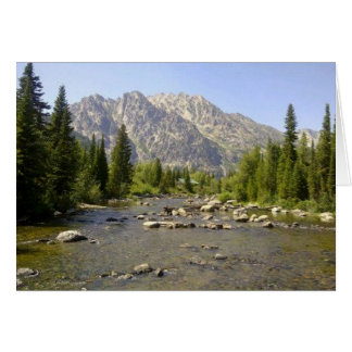 WYOMING - TETONS CARD