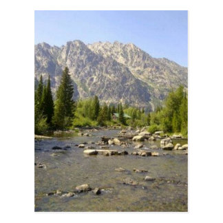 WYOMING - TETONS POSTCARD