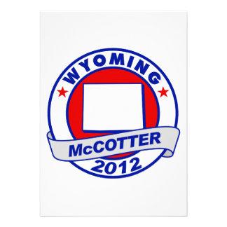Wyoming Thad McCotter Custom Invites