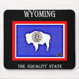 Wyoming The Equality State Mouse Pad