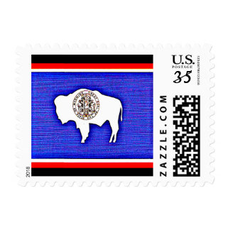 """Wyoming """"The Equality State"""" Postage"""