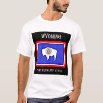 Wyoming The Equality State T-Shirt