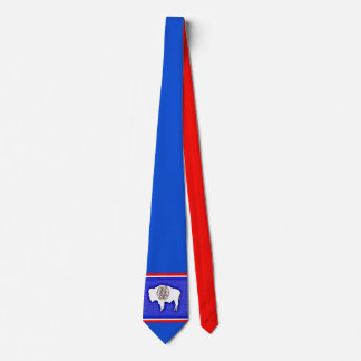Wyoming The Equality State Tie