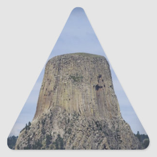 WYOMING TRIANGLE STICKER