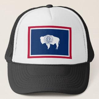 Wyoming, United States flag Trucker Hat