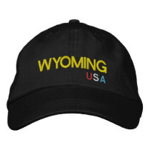 Wyoming* USA Baseball Hat  Wyoming-Kappe