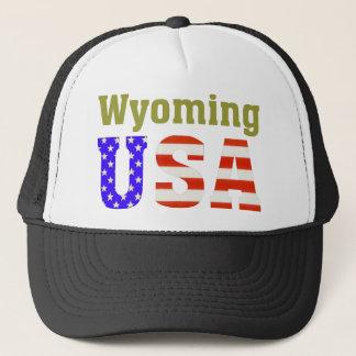 Wyoming USA! Trucker Hat