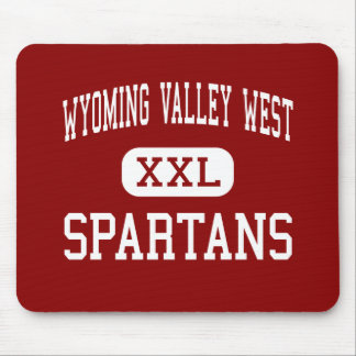 Wyoming Valley West - Spartans - High - Plymouth Mouse Pad