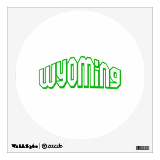 Wyoming Wall Decal