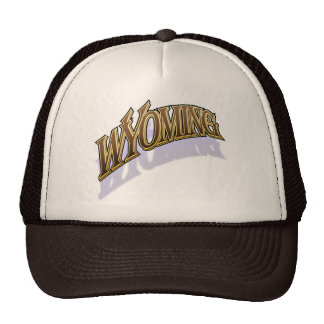 Wyoming warmcaps shaded cap trucker hat