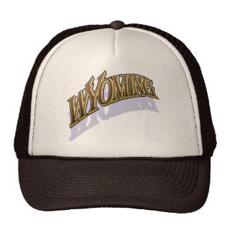 Wyoming warmcaps shaded cap trucker hat