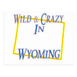 Wyoming - Wild and Crazy Postcard