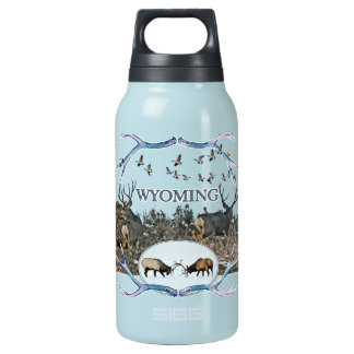 WYOMING wildlife Insulated Water Bottle