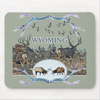 WYOMING wildlife Mouse Pad