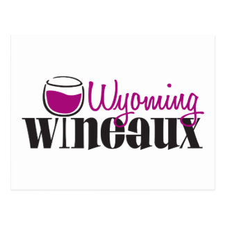 Wyoming Wineaux Postcards