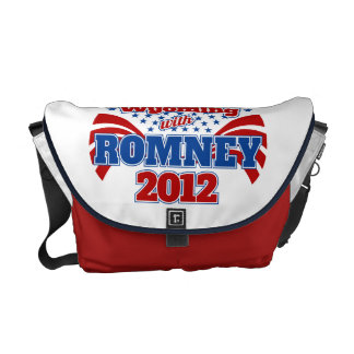 Wyoming with Romney 2012 Courier Bags