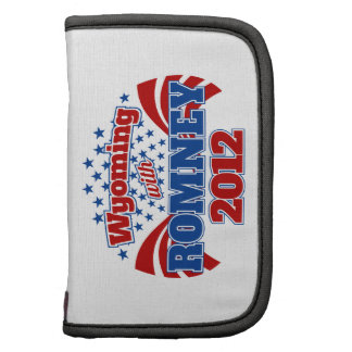Wyoming with Romney 2012 Planner