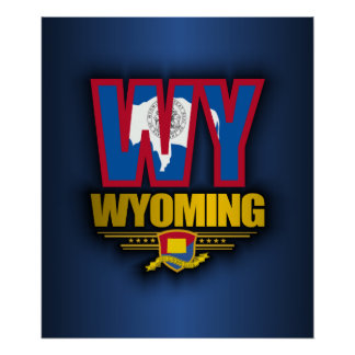 Wyoming (WY) Poster