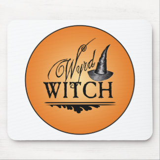 Wyrd Witch Logo Mouse Pad