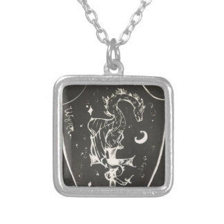 Wyrm Silver Plated Necklace