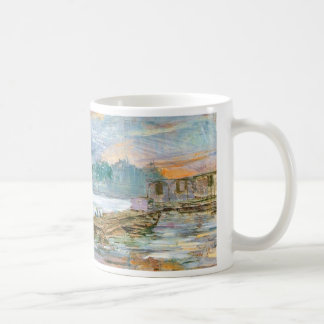 Wyspianski, Barges on the Seine, 1894 Coffee Mugs