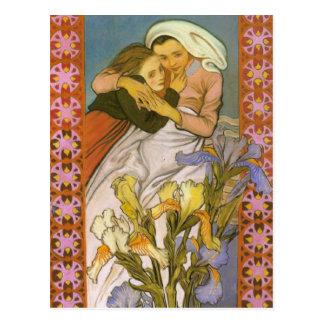 Wyspianski, Caritas (amor), 1904 Tarjeta Postal